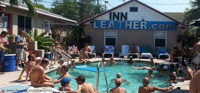 Cocks Out Pool Party